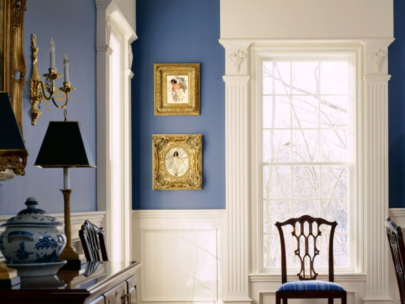 Formal Blue Room