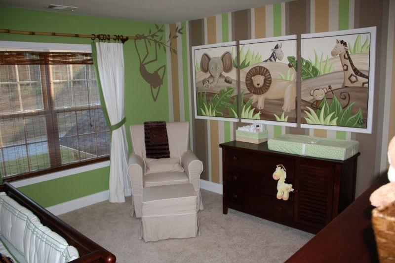 design-ideas-green-color-interior-animal-theme