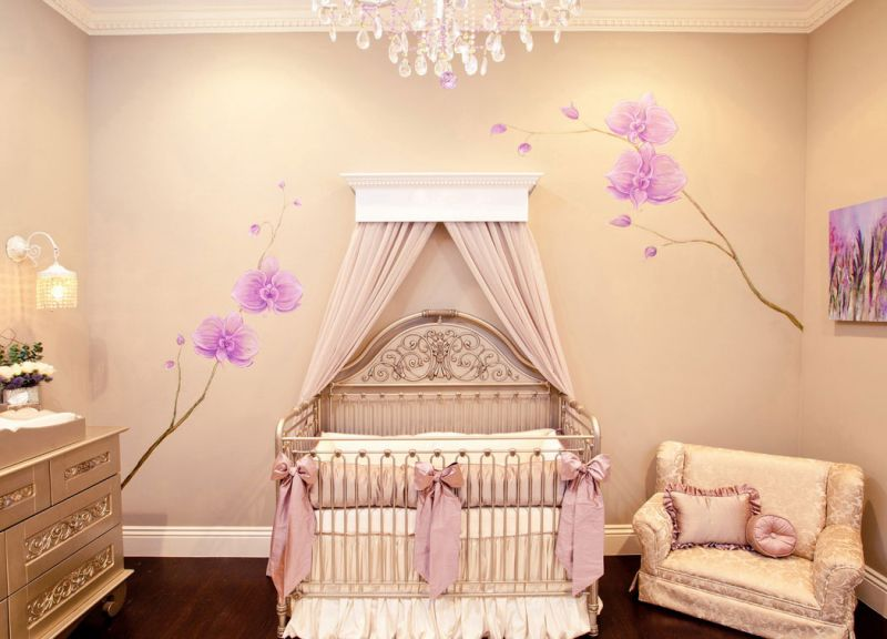 astounding-model-baby-nursery-for-girls-calm-color-pink-beautiful-decorating-room-sofa-bed-furniture