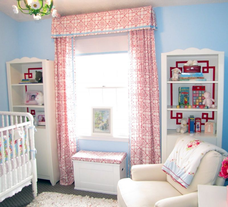 Ba Nursery The Best Blackout Curtain Design For Child Room Red intended for Baby Nursery Curtains - Design Decor
