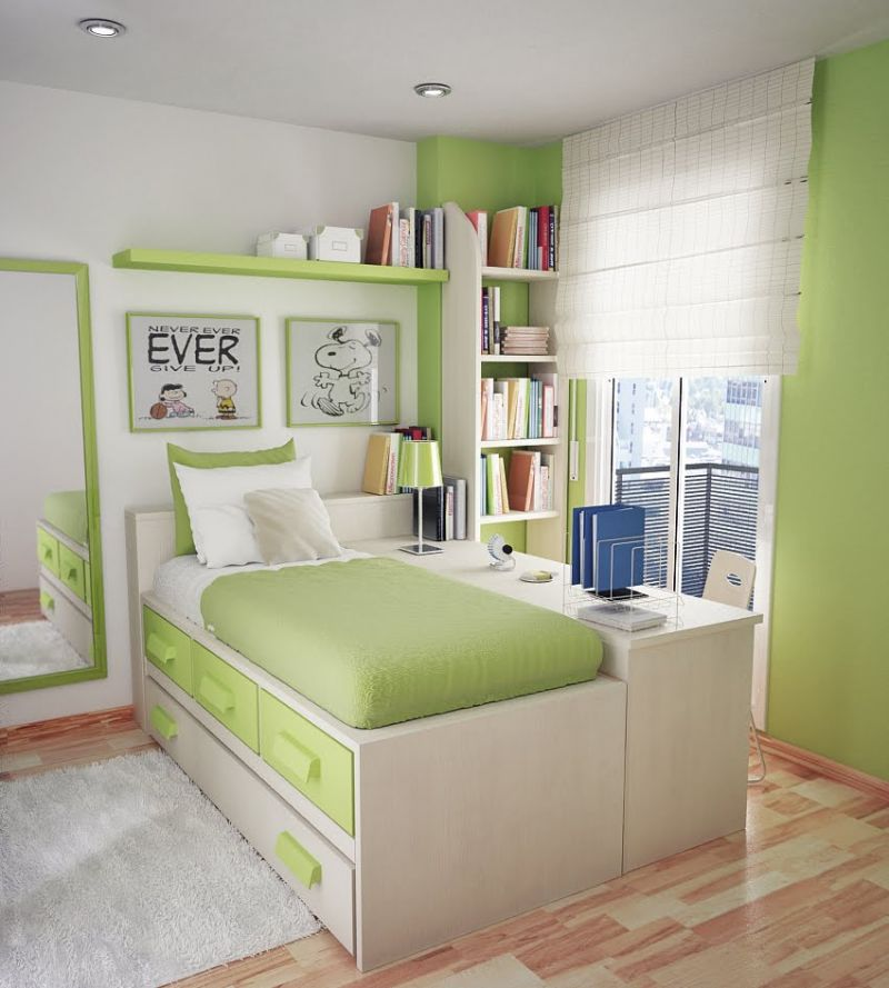 beautiful-small-boys-teen-bedroom-ideas-with-small-room-space-teenage-bedrooms-design-for-boys-and-girls-bedroom-a-small-bedroom-design-ideas-for-teenagers-with-beautiful-green-theme-of-roo