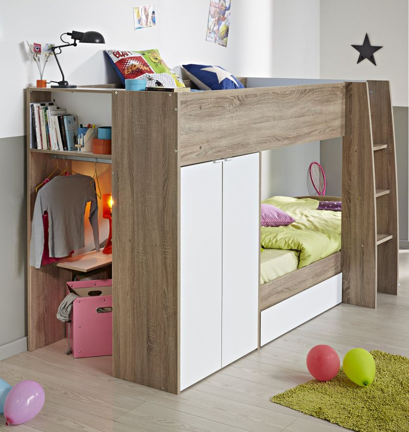ellio-bunk-bed-white-dakota-oak-for-children-kids-bedroom-excerpt-sunroom-furniture-ikea_cool-kids-bunk-beds_kids-room_room-to-go-kids-ideas-pottery-barn-rooms-beds-lighting-outlet-the-cool-kid-art