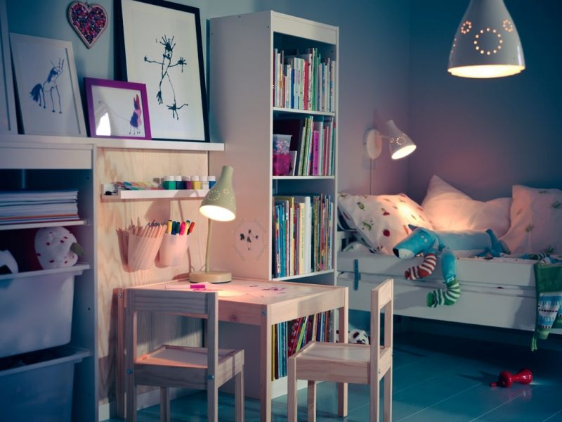 Furniture Creative Small Desk Designs Ikea Frexone Home within The Stylish ikea Teens Room with regard to Home - Design Decor