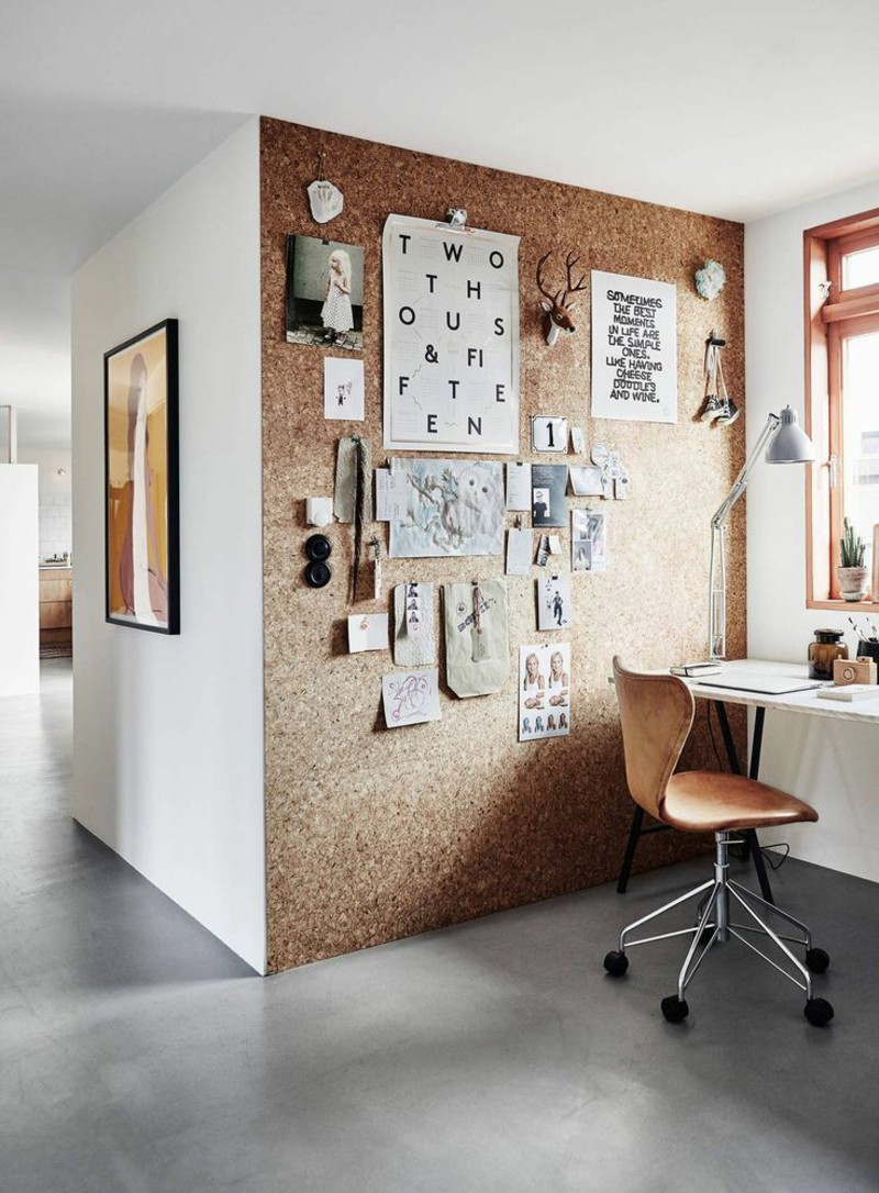 ideas-for-creative-wall-design-work-cork-wall