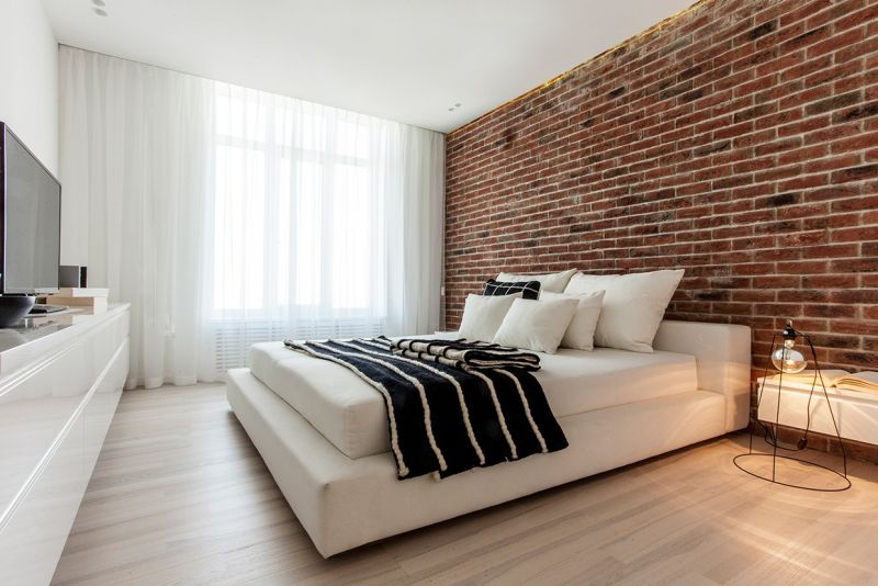 interior-brick-walls-decorating-ideas-for-bedroom-with