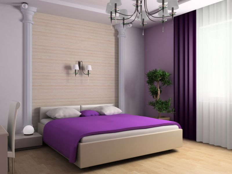 interior-purple-bedroom-design