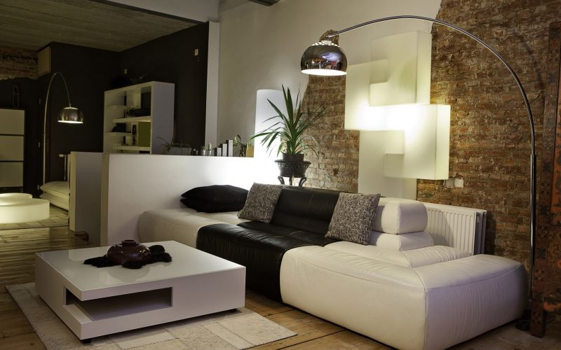 nice-bricks-wall-interior-design-ideas-with-white-colored-ideas-and