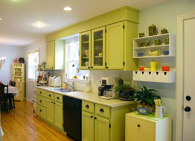sage-green-country-kitchen-cabinets