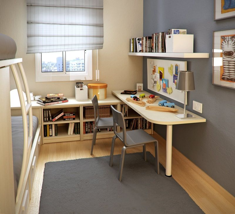 The Two Ideas For Making The Kids Room Storage Designing City within Amazing kids room desk intended for Inspire - Design Decor
