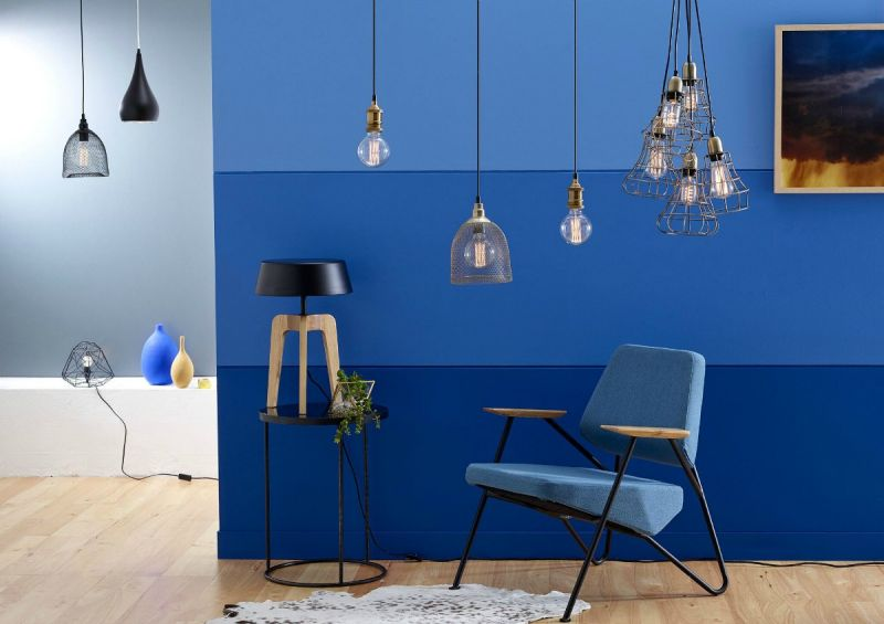 types-of-lighting-trends-for-2016-the-life-creative-blue-feature-wall