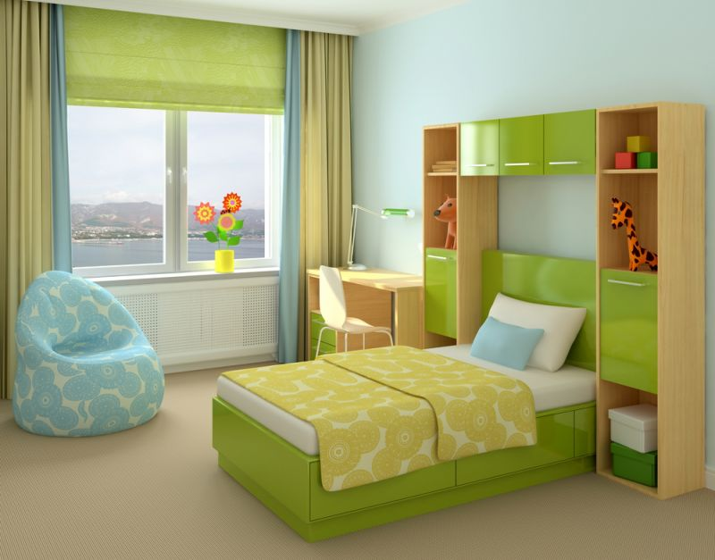 _green_bed_in_the_nursery_091341_