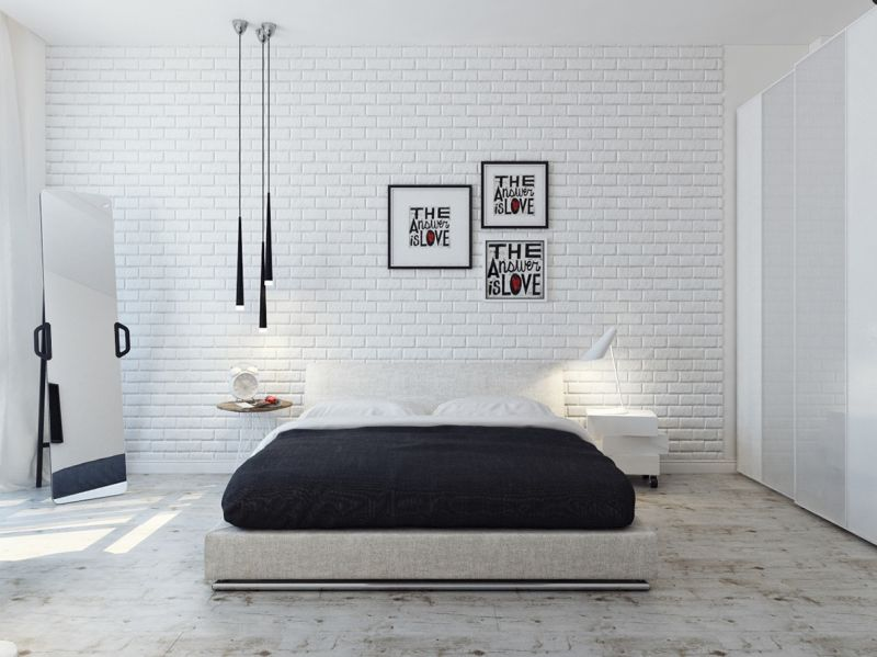 creative-word-wall-decoration-in-white-bricked