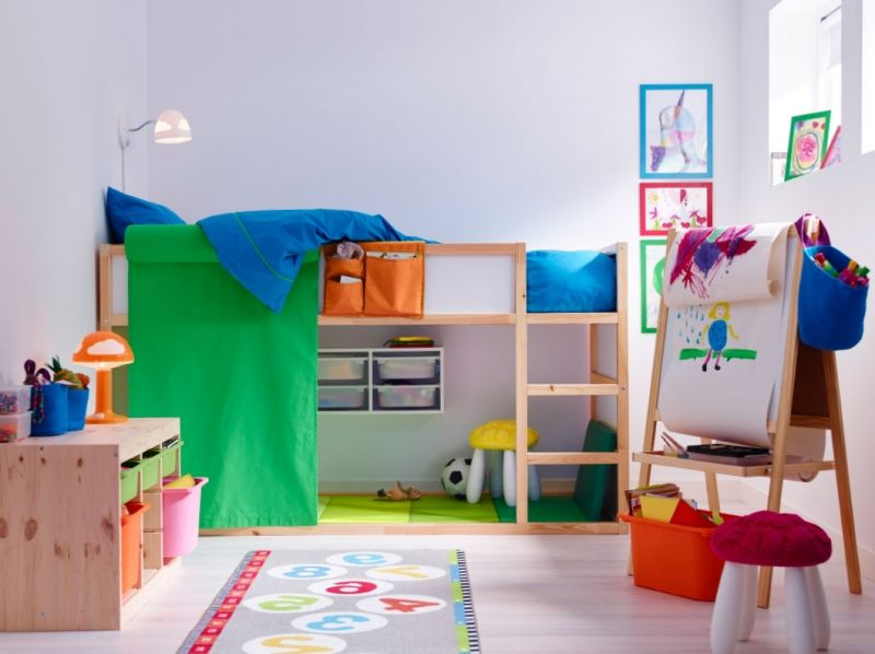Ikea Children39s Bedroom Ideas throughout The Stylish ikea Teens Room with regard to Home - Design Decor