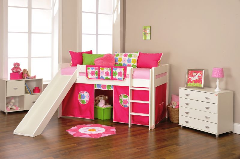 pink-and-white-nuance-of-the-child-bed-brown-white-that-has-wooden-floor-with-pink-cabinet-can-add-the-beauty-inside-with-white-cabinet-also-make-it-seems-nice-with-white-windows-frame