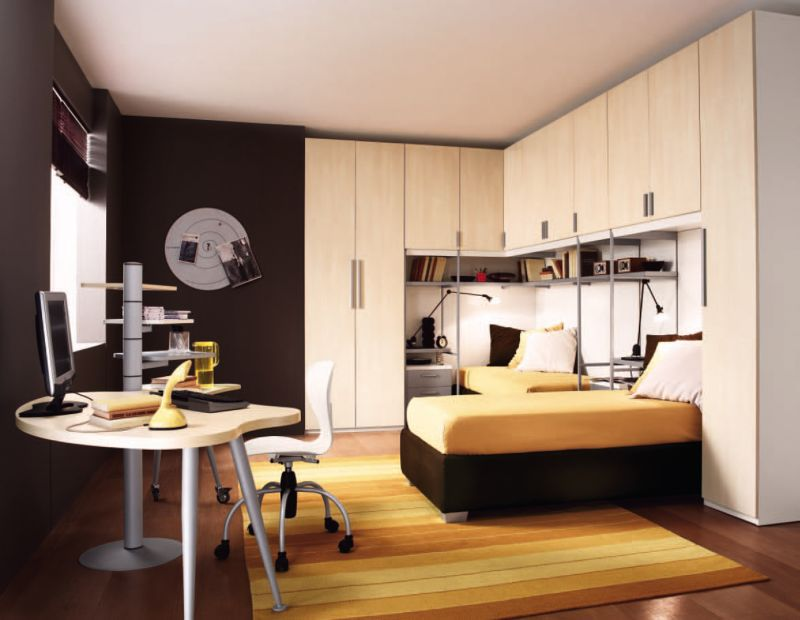 white-cabinet-with-white-table-and-laminate-flooring-also-yellow-bed-ideas-wardrobe-for-white-nursery